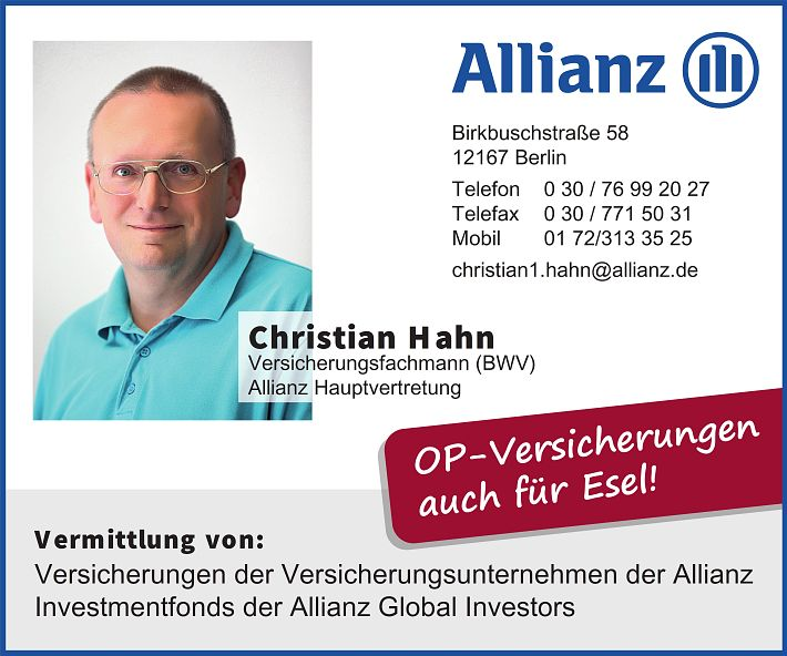 Allianz Christian Hahn